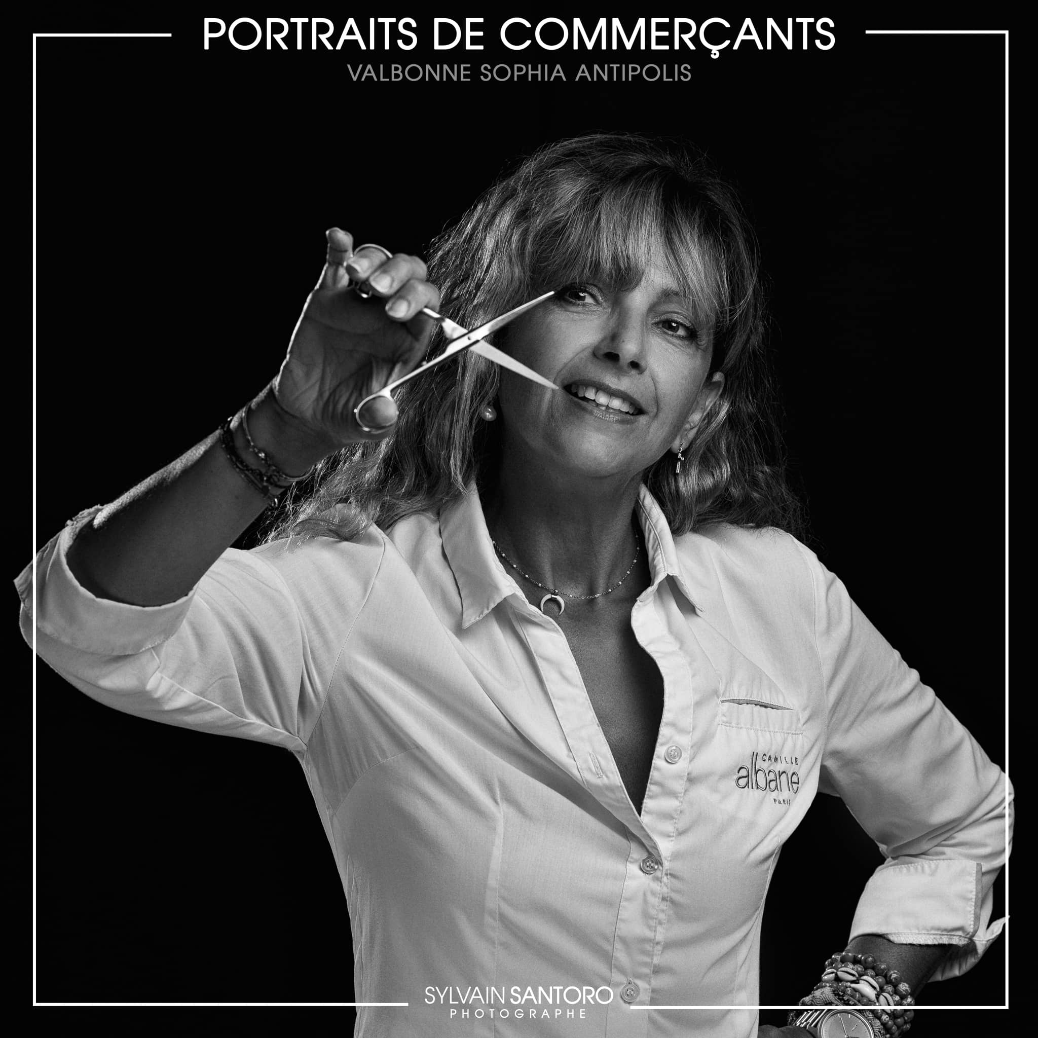Portraits de Commerçants : Camille Albane