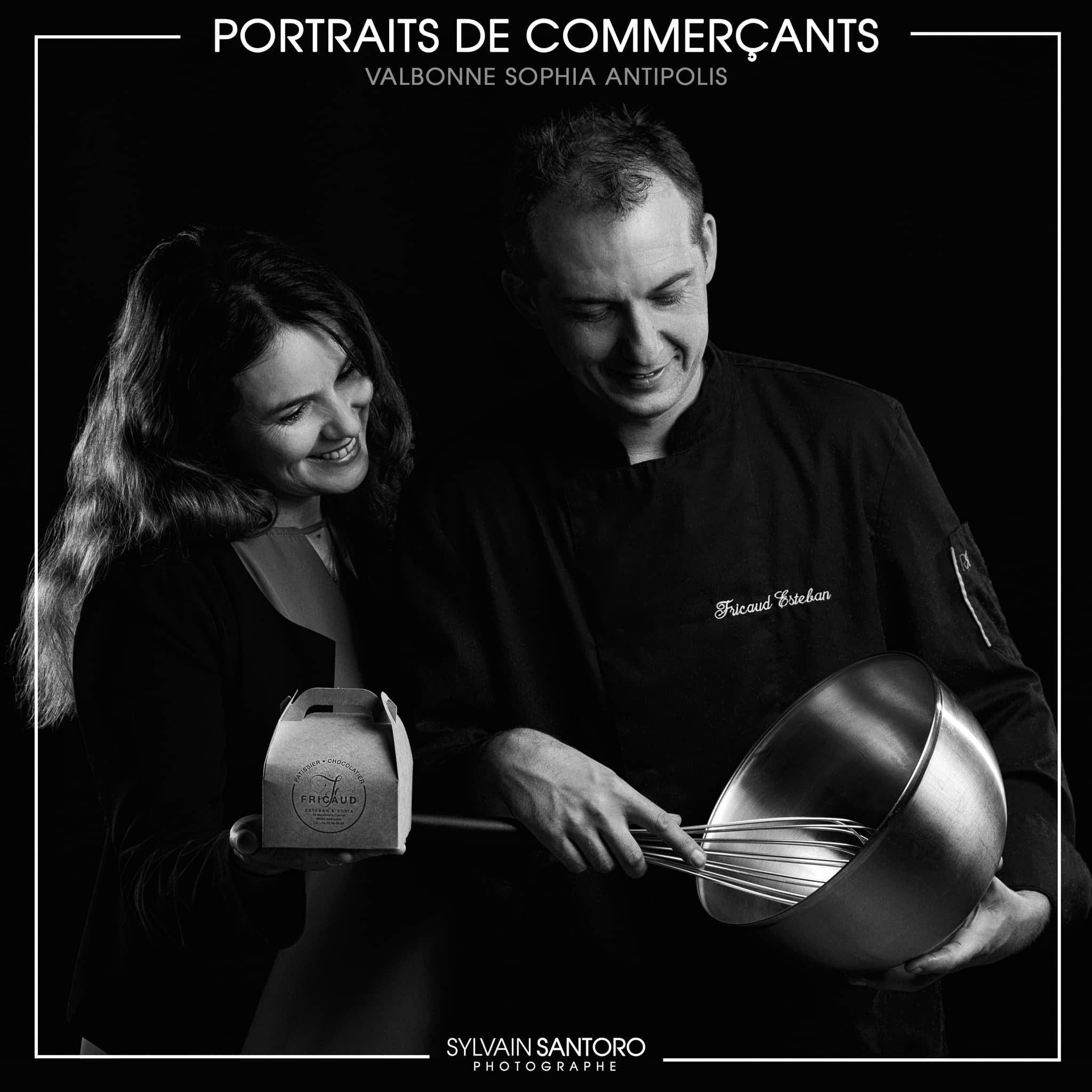 Portraits de Commerçants : Patisserie Fricaud